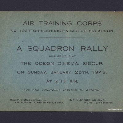 Air Training Corps poster