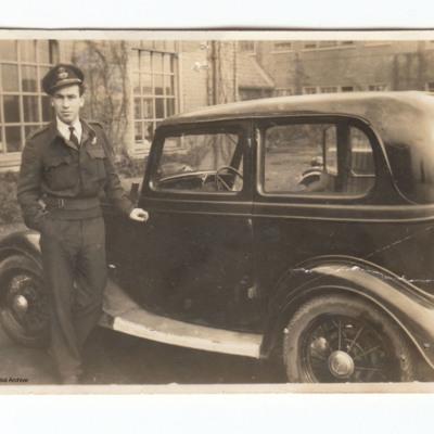 Ken Munro with car