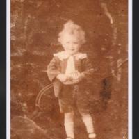 Basil Ambrose as child