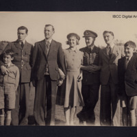 Donald Briggs with family