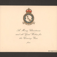83 Squadron Christmas card