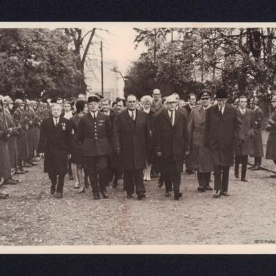 Parade to War Graves