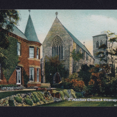 St Martin's Church and Vicarage