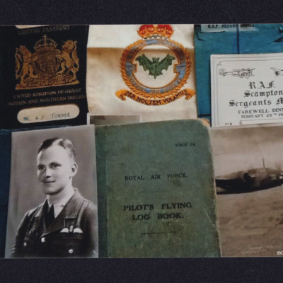 John Turner collection of  documents and photographs