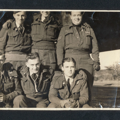 Six airmen including Arthur Vickers