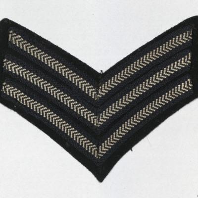 Peter Webb's Sergeant Stripes