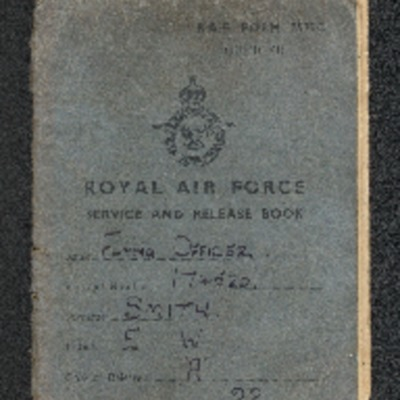 Ernest Smith's Service and Release Book