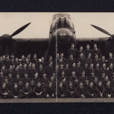 255 airmen and a Lancaster