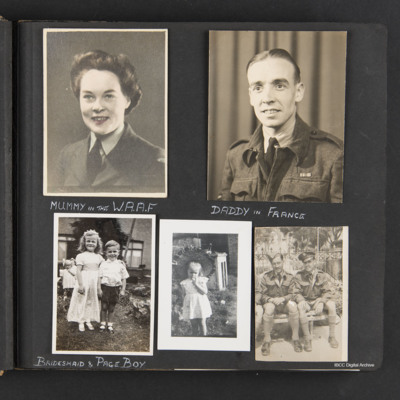 Kenneth Babington-Browne and family