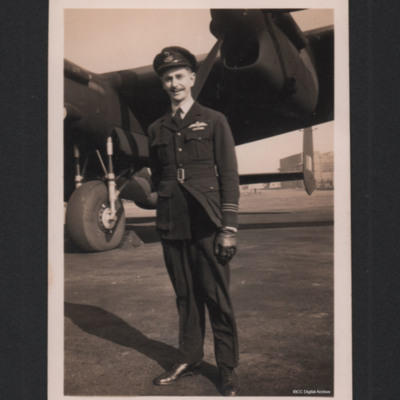 Squadron Leader Bill Radford