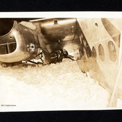Avro York accident