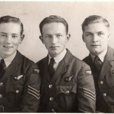 Three aircrew sergeants