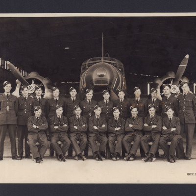 Andrew Bain's training course, with Anson