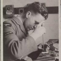 John Bagg in the camera workshop