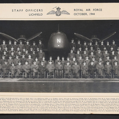 Staff Officers Royal Air Force Lichfield October 1944