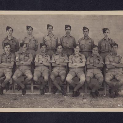 Thirteen airmen