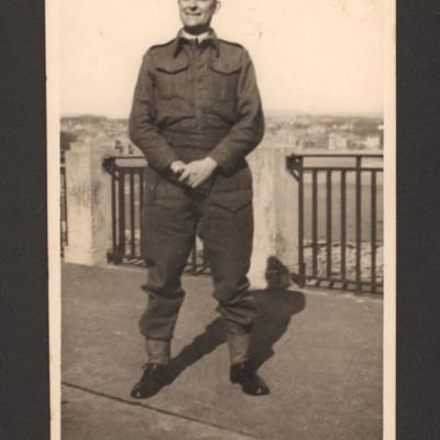 John Joseph Parker in uniform