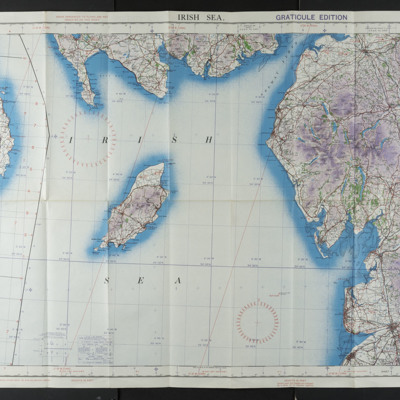 Irish Sea Air Chart, Sheet 2A