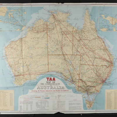 TAA Map of the Commonwealth of Australia