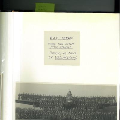 Page 3 of D C Bradbury Scrapbook