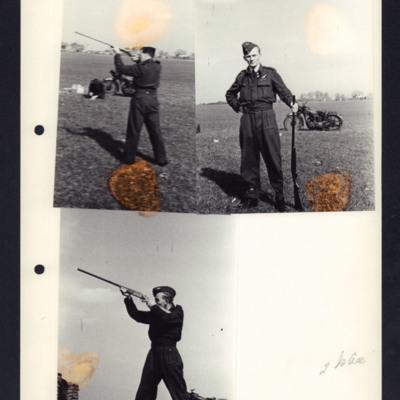 Airmen shooting practice