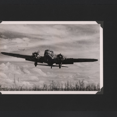 Avro Anson landing