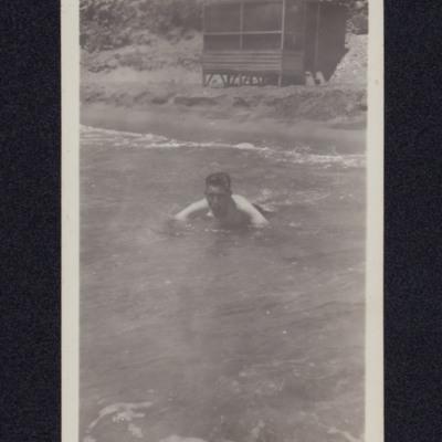 Rex Searle Swimming