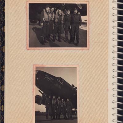 Five airmen including Rex Searle