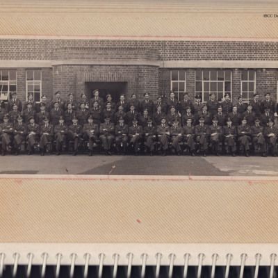 Large group of Airmen