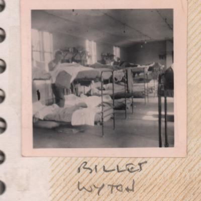 Billet at RAF Wyton