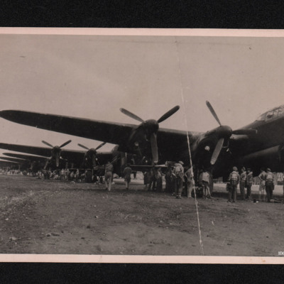 Lancasters at Pomigliano D'Arco