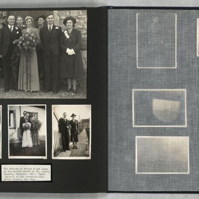 The Wedding of Evelyn and Len Jones