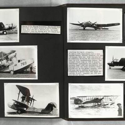 B-17, Walrus, Whitley, Albemarle and Short 41