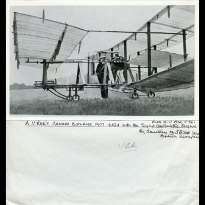 Roe biplane