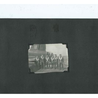 Six Airmen and their Wellington