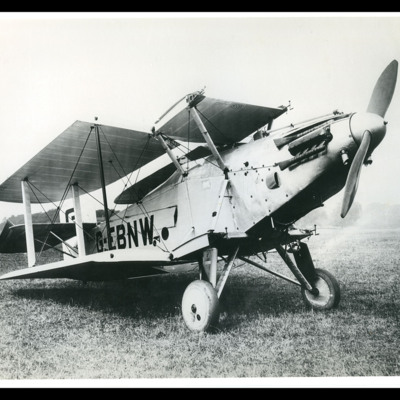 Avro Buffalo with wings folded