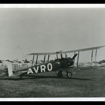 Avro 504 in Brisbane Australia