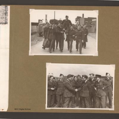 Groups of servicemen