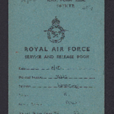 Robert Wareing Service and Release book