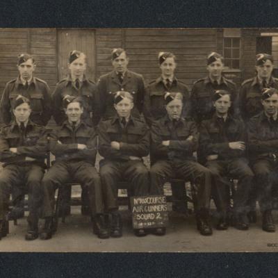 No 105 Course Air Gunners Squad 2