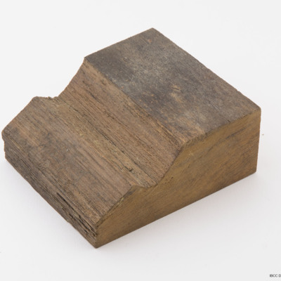 Piece of wooden deck from the Tirpitz