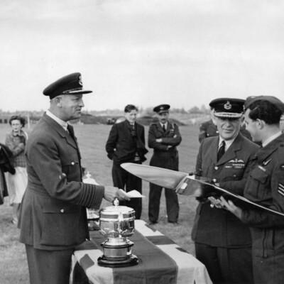 24 RFS Presentation at RAF Kenley