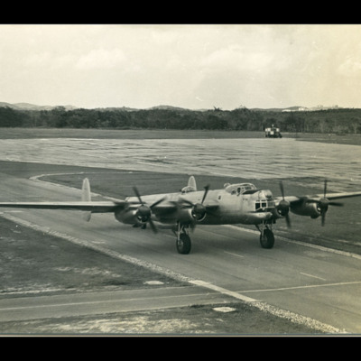 Avro Lincoln taxiing