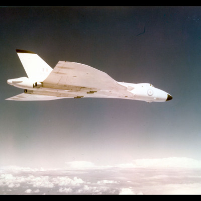 Avro Vulcan airborne