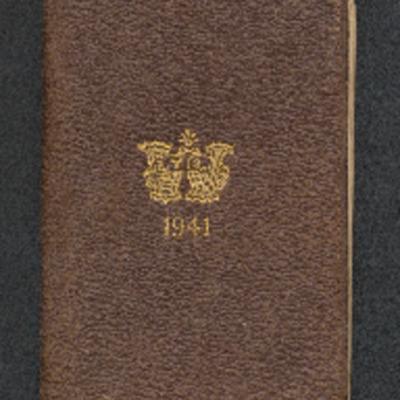 Alan Green's 1941 Diary