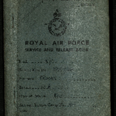 Bill Brooks' Service and Release Book as a prisoner of war