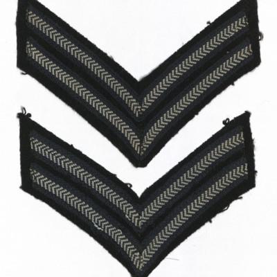 Corporal ranks badges