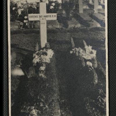 Sergeant Edward Hastie's Grave