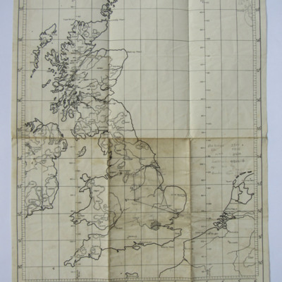 Planning Chart for Cross-Country from Chedburgh