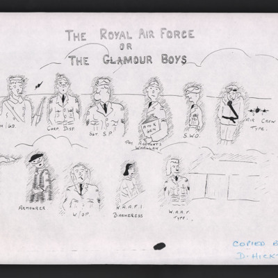 The Royal Air Force or Glamour Boys